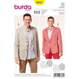 Patron Veste Burda n°6813