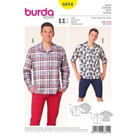 Patron Chemise Burda n°6814