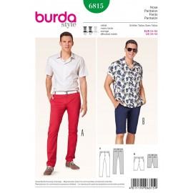 Patron Homme Pantalon Burda n°6815