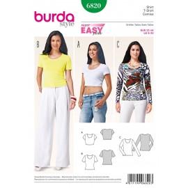 Patron T-shirt Burda n°6820