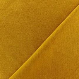 Tissu velours ras Melda  Brun x 10cm