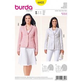 Patron Veste Burda n°6822