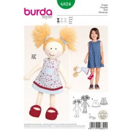 Patron Poupée Burda n°6824