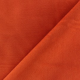 Tissu velours ras élasthanne gris x 10cm