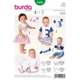 Patron T-shirt Burda n°9408