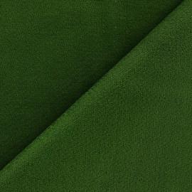 Tissu velours ras élasthanne bordeaux x 10cm