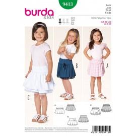 Patron Jupe Burda n°9413