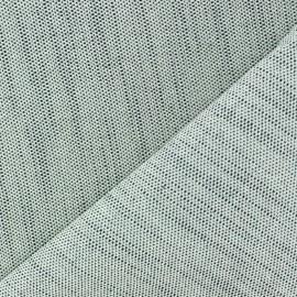 Tissu toile de coton uni CANEVAS Indigo x 10cm