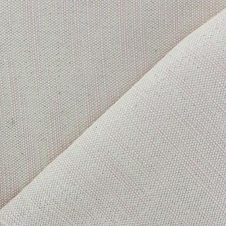 Tissu toile guttée lurex Chariota rose