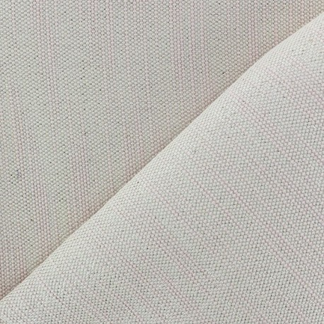 Bonded Canvas Fabric - lurex Chariota pink x 10cm