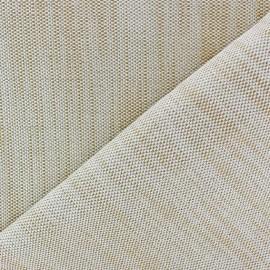 Tissu toile guttée lurex Chariota ocre x 10cm