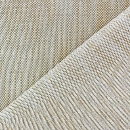 Bonded Canvas Fabric - lurex Chariota ruddle x 10cm
