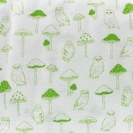 Green clover Kokka fabric - green x 10cm