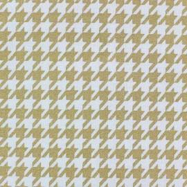 Tissu coton Nightfall pois dorés x 10cm