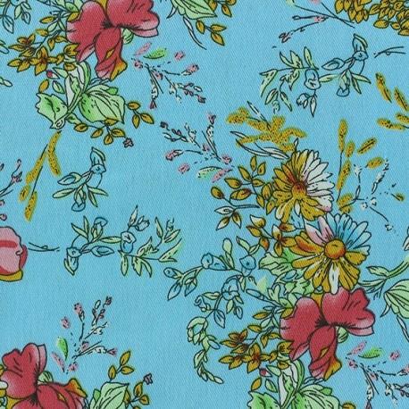 Jeans Constance fabric - blue x 10cm