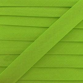 Multi-purpose-fabric Bias binding 20mm - lime