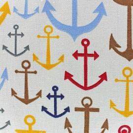 Tissu toile coton Anchor x 10 cm