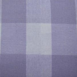 Vichy très grands carreaux lilas