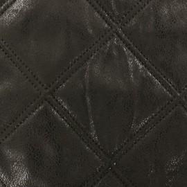 Tissu matelassé Antic noir x 10cm