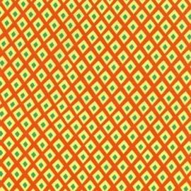 Tissu Spot - Citrus x 10cm