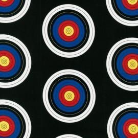 Tissu Sports life C - Noir x 10cm