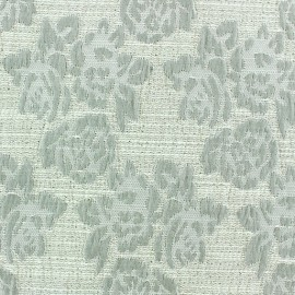 Tissu Damassé Floral x 10cm