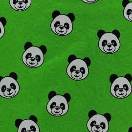 Tissu jersey Panda Pleasure beige x 10cm