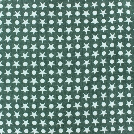 tissus pas cher tissu jersey ronds toiles fond vert sauge. Black Bedroom Furniture Sets. Home Design Ideas