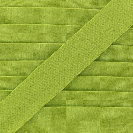 Bias binding, Jersey - lime