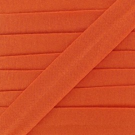 Bias binding, Jersey - orange