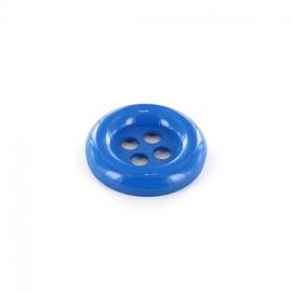 Bouton Clown bleu électrique