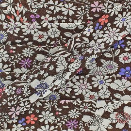 Bias binding Liberty June's Meadow 20 mm - brown