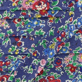 Biais Liberty Flora Fusion mauve x 20 mm
