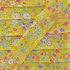 Bias binding, Liberty, Kayoko x 20 mm - yellow