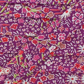 Bias binding, Liberty, Kayoko x 20 mm - dark purple