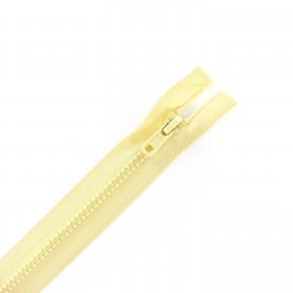 Synthetic separating zipper Eclair - ivory