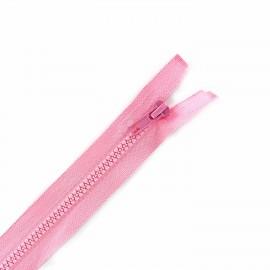 Fermeture Eclair séparable synthétique rose