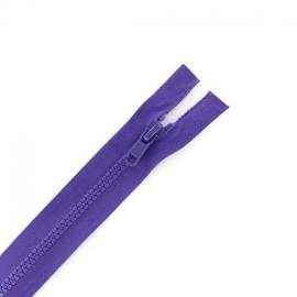 Fermeture Eclair séparable synthétique violet