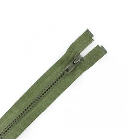 Fermeture Eclair séparable synthétique vert asperge