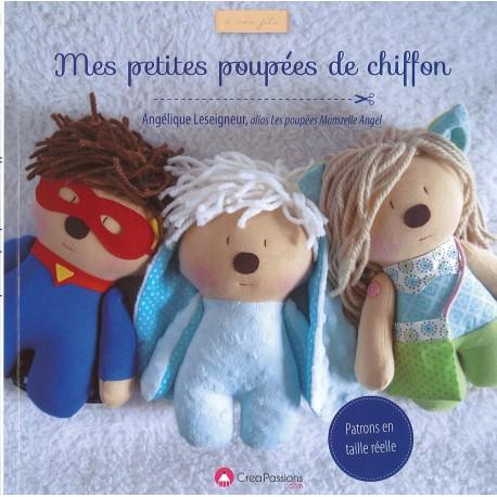 Livre Mes petites poupées de chiffon