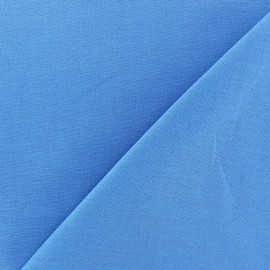 Tissu Coton uni - bleuet x 10cm