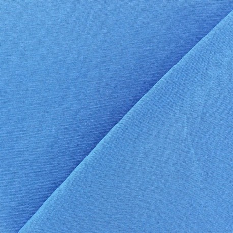 Tissu Coton uni paon x 10cm