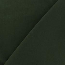 Tissu Coton uni - vert kaki x 10cm