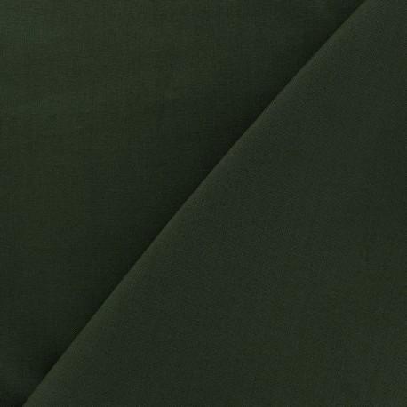 Tissu Coton uni vert turquoise x 10cm