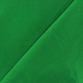 Cotton Fabric - bright green x 10cm