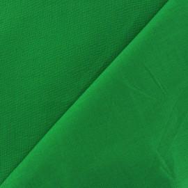 Tissu Coton uni - vert vif x 10cm