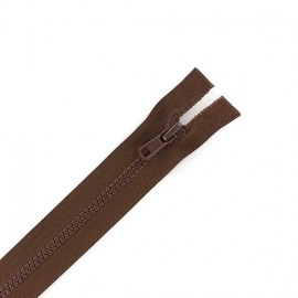 Synthetic separating zipper Eclair - cocoa