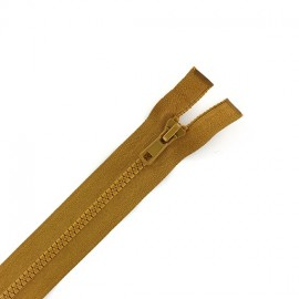 Synthetic separating zipper Eclair - camel