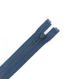 Fermeture Eclair séparable synthétique - bleu minéral