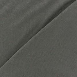 Tissu jersey léger uni gris x 10cm